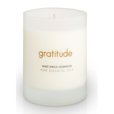 The Pure Candle Intentions Pure Essential Oil Aromatherapy Gratitude Scented Jar Candle