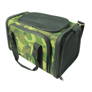 Pet Life Roomeo Collapsible Dog Carrier Camouflage