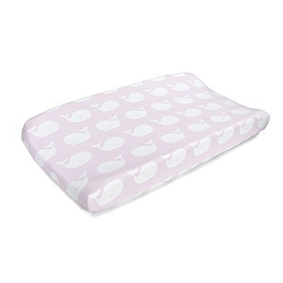 Harriet Bee Freddy Whale Tails Contoured Changing Pad Cover