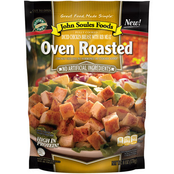 John Soules Foods® Oven Roasted Chicken 6 oz. Bag