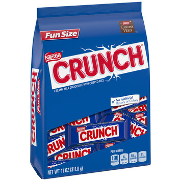 NESTLE CRUNCH Fun Size 11 oz. Stand Up Bag