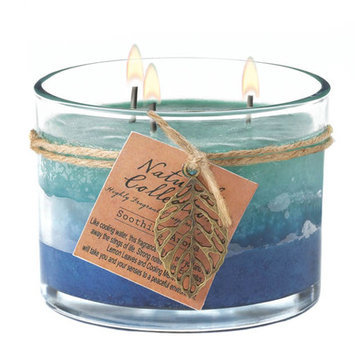 Other Deco Glow Three-Wick Soothing Fragrance Glass Candle