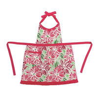 Peking Handicraft Poinsetta Apron