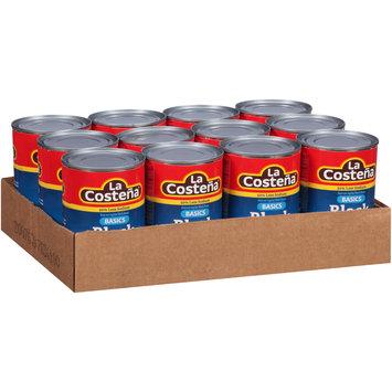 La Costena® Basics 50% Less Sodium Black Beans 12-15 oz. Cans