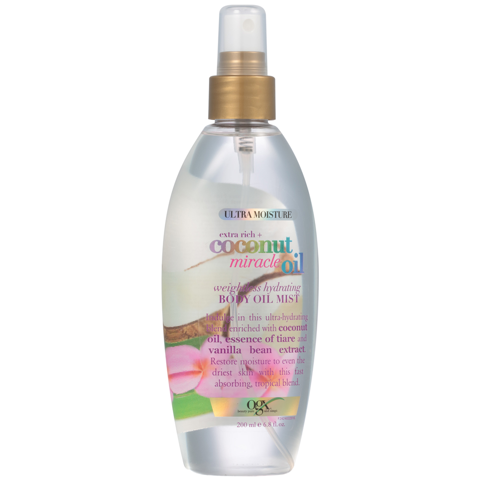 OGX® Extra Rich + Coconut Miracle Oil Weightless Hydrating Body Oil Mist
