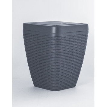 Superior Performance Brand 1.63-Gal. Square Trash Can