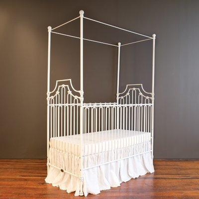 Bratt Decor Parisian 9-in-1 Convertible Crib Finish: White