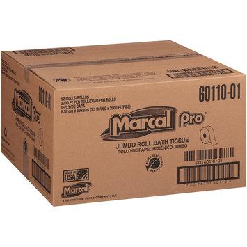 Marcal Pro® Jumbo Roll 1-Ply Bath Tissue 12 ct Box