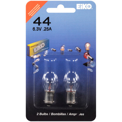 EiKO® 44 Auto Replacement Bulbs 2 ct Carded Pack