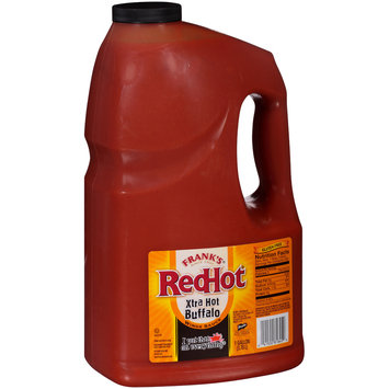 Frank's® RedHot® Xtra Hot Buffalo Wing Sauce 128 fl. oz. Jug