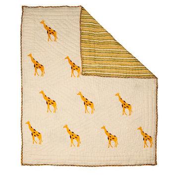 Naaya By Moonlight Giraffe Quilt