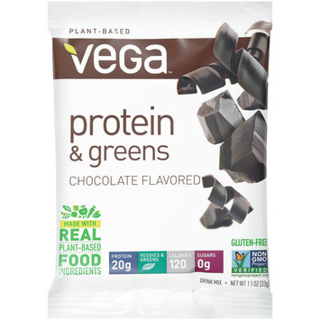 Vega™ Chocolate Flavored Protein & Greens Drink Mix 1.1 oz. Wrapper