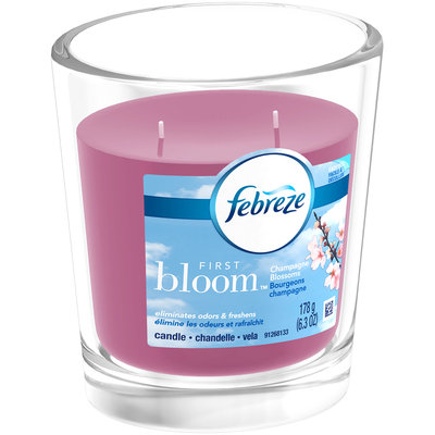 Febreze First Bloom™ Champagne Blossoms Candle 6.3 oz. Jar