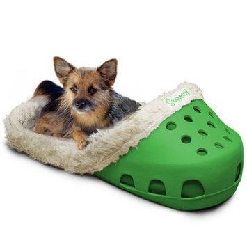 Unique Beast Sasquatch! II Pet Dome Color: Hunter Green