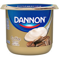 Brand Dannon® Classic All Natural Blended Lowfat Yogurt Coffee 5.3 oz. Single Serve