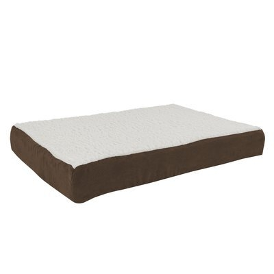 Petmaker Orthopedic Sherpa Memory Foam Dog Mat Size: Medium (30