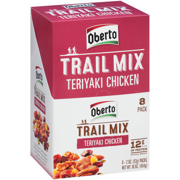 Oberto® Teriyaki Chicken Trail Mix 8-2 oz. Packs