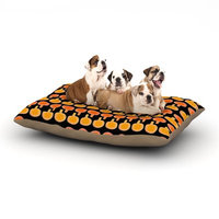 East Urban Home Jane Smith 'Vintage Mushroom' Dog Pillow with Fleece Cozy Top Size: Large (50