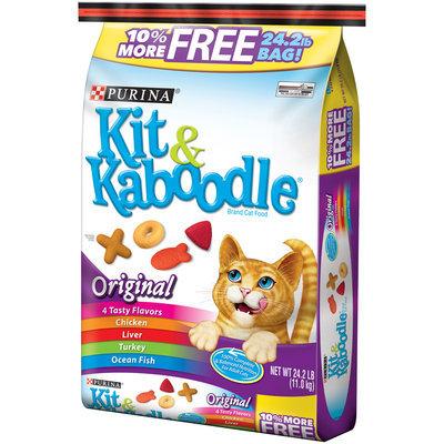 Purina Kit & Kaboodle Original Cat Food 24.2 lb. Bonus Bag