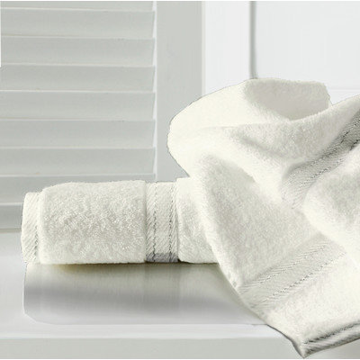 Maison Condelle Sandra Venditti Bamboo Bath Towel Color: Wheat