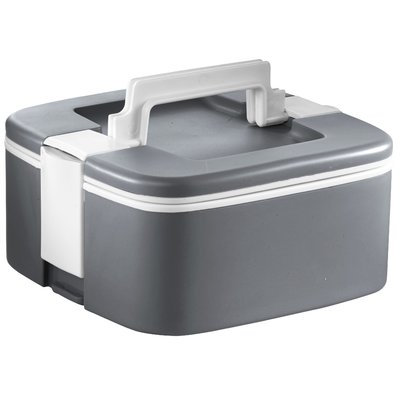 Ozeri ThermoMax Stackable Food Storage Container Color: Gray