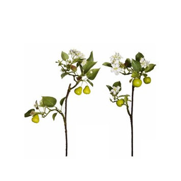 August Grove Apple and Pear Blossom Branch (Set of 3)