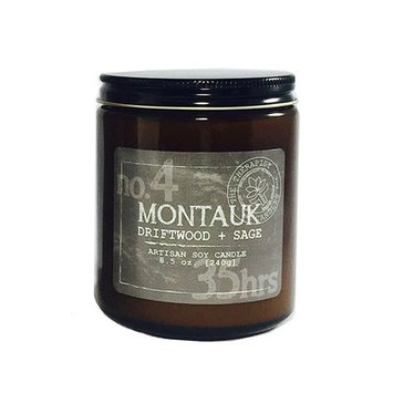 The Therapist Candles No. 4 Montauk Driftwood and Sage Soy Scent Jar Candle