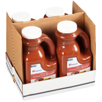 Minor's® Char Siu Chinese Style BBQ Sauce 4.5 lb. Jug