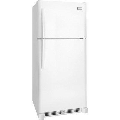Frigidaire FGHT2046QP Gallery 20.4 Cu. Ft. White Top Freezer Refrigerator - Energy Star