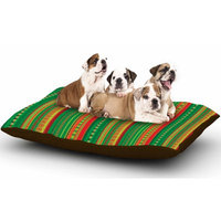 East Urban Home Allison Soupcoff 'Coastal' Dog Pillow with Fleece Cozy Top Size: Large (50
