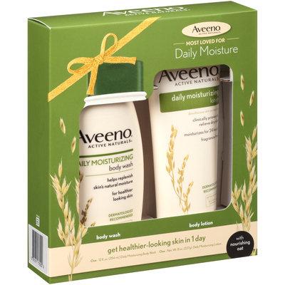 Aveeno® Active Natural Daily Moisturizing Body Wash & Body Lotion