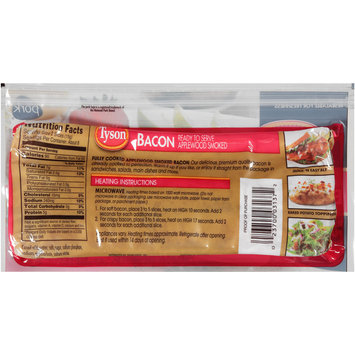 Tyson® Applewood Smoked Bacon 2.2 oz. Pack