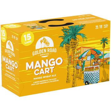 Golden Road Brewing Mango Cart Mango Wheat Ale 15-12 fl. oz. Cans