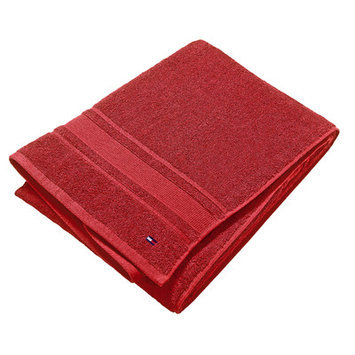 Tommy Hilfiger Signature 6 Piece Towel Set Color: Red