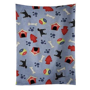 East Urban Home Dog House Labrador Retriever Dishcloth