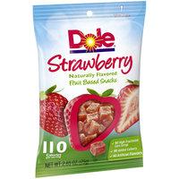 Dole® Strawberry Fruit Snacks 2.65 oz. Bag