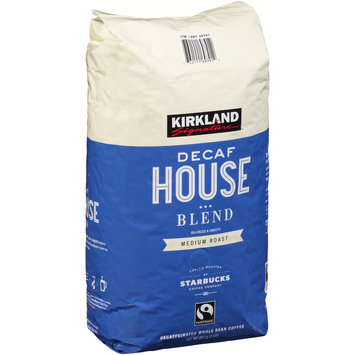 Kirkland Signature™ House Blend Medium Roast Decaffeinated Whole Bean Coffee 2 lb. Bag