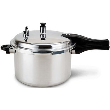 Imperial Home 5.5 Qt. Stainless Steel Pressure Cooker