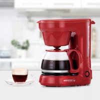 Holstein Housewares 6 Cup Coffee Maker Color: Red