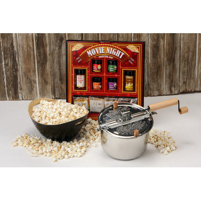 Wabash Valley Farms Whirley 3 Piece Stainless Steel Movie Night Package Set