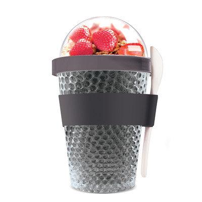 Adnart Chill Yo 2 Go Food Storage Container Color: Black