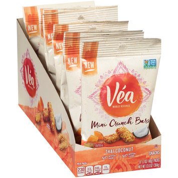 Vea Thai Coconut Mini Crunch Bars 8-1.7 oz. Bags