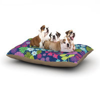 East Urban Home Jacqueline Milton 'Lula' Dog Pillow with Fleece Cozy Top Size: Large (50