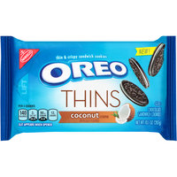 Nabisco Oreo Sandwich Cookies Thins Coconut Creme