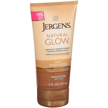 Jergens® Natural Glow® Medium to Tan Skin Tones Daily Moisturizer 5 fl. oz. Tube