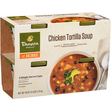 Panera Bread® at Home Chicken Tortilla Soup 4 ct Sleeve