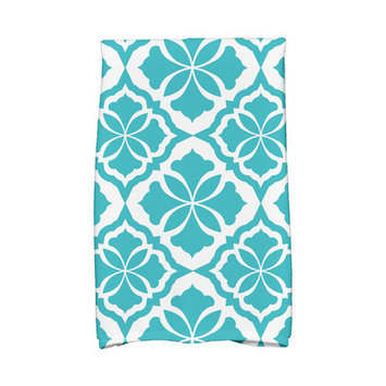 Andover Mills Hand Towel Color: Turquoise