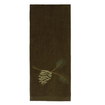 Saturday Knight Festive Pinecone Hand Towel