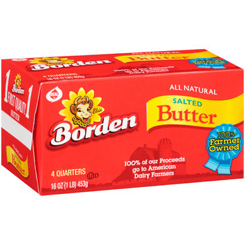 Borden® Salted Quarters Butter 18-16 oz. Boxes
