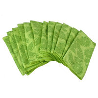 Symple Stuff 12 Pieces Bulk Citrus Microfiber Dishtowel Color: Lime